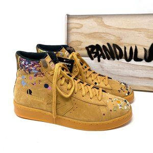 Converse X Bandulu Leather Mid Honey Boot Suede M